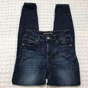 Express high rise skinny jeans size 0s